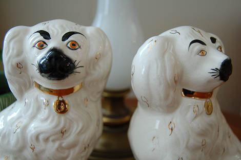 Staffordshire Dogs By Beswick Ware Retro Renovation