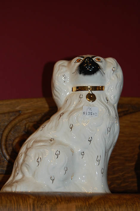 vitnage beswick staffordshire dog