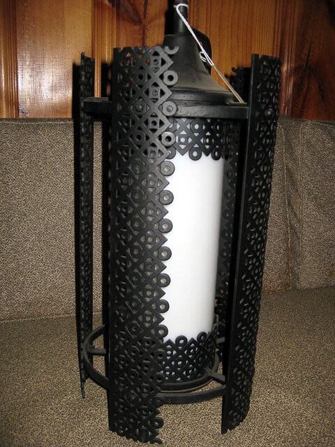 vintage modern porch light