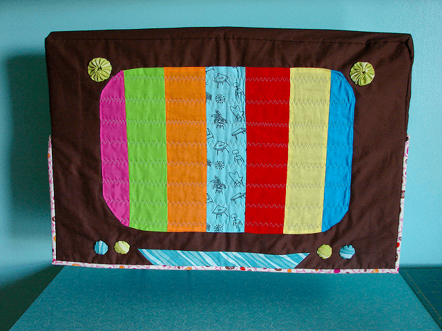 Sewn Cover For Plasma Tv