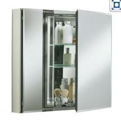 large recessed medicine cabinet
