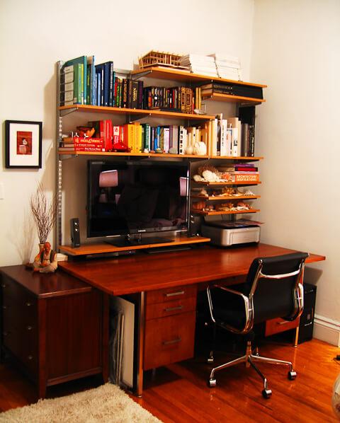 7 Ideas To House A Flatscreen Tv In Your Retro Interior