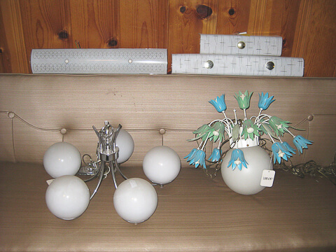 1960s vintage lighting
