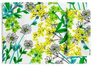 vintage vera wildflowers placemat