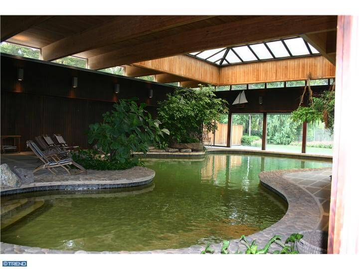 indoor pool adrian pearsall 1964 home