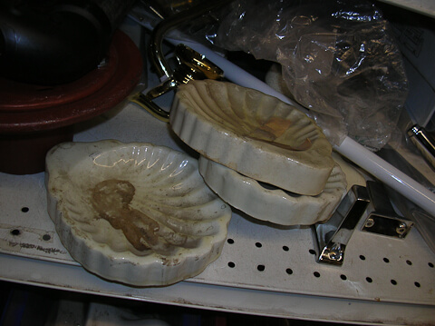 vintage soap dishes