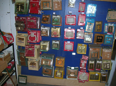vintage wall switch plates