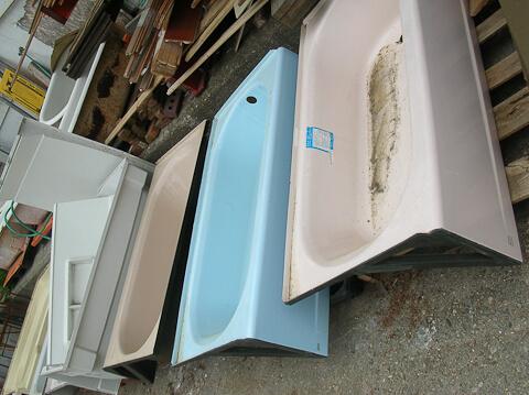 NOS vintage bath tubs