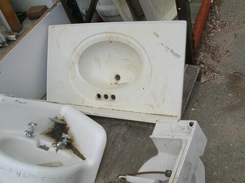 vintage sink top