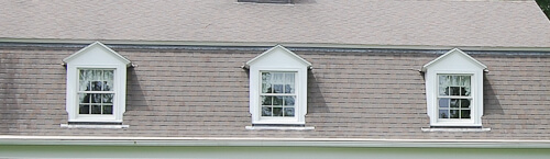 matching windows in a dutch colonial house
