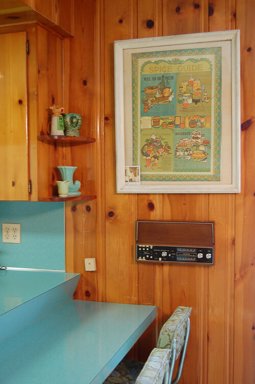 Betty Crafter Says Yes To The Knotty Pine Retro