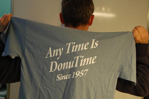 donut dip tee shirt