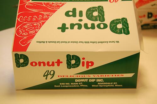 donut dip box