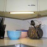factory installed undercabinet lighting in kate mckinnons kitchen