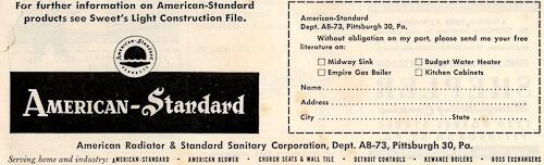 1954 american standard company information