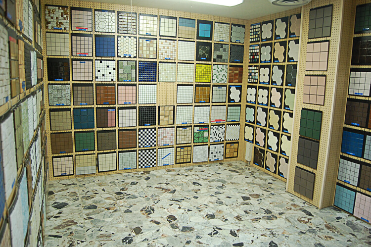 vintage mosaic tile from world of tile image copyright retro renovation 2011