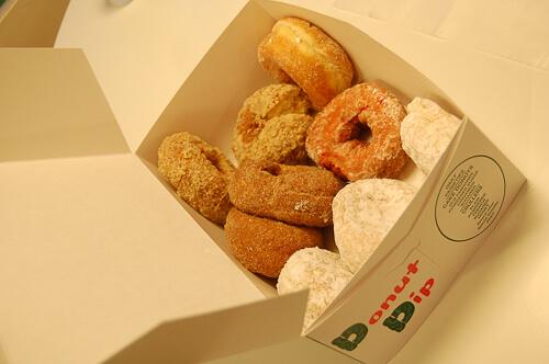 donut dip donuts