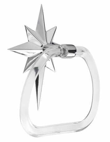 atomic star towel ring from rejuvenation