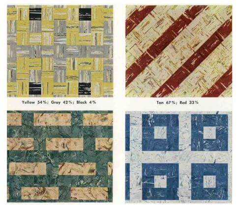 30 patterns to lay vinyl floor tiles in your kitchen or basement