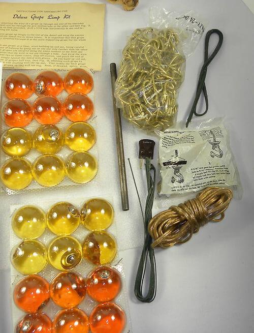 vintage grape light kit