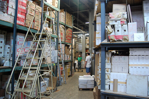 tile warehouse for NOS vintage tile world of tile