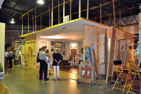 inside tribuzio hilliard photo studio