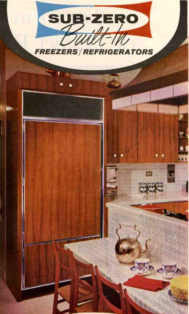 1966 Sub-Zero refrigerator