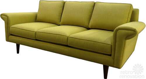 mid mod sofa