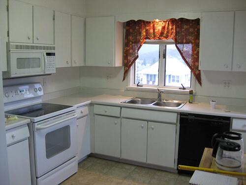 """Trina's 1956 kitchen """"before"""""""