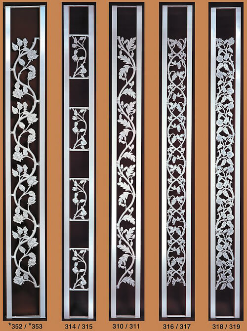 fancy scrolls for decorative aluminum porch columns from superior aluminum products