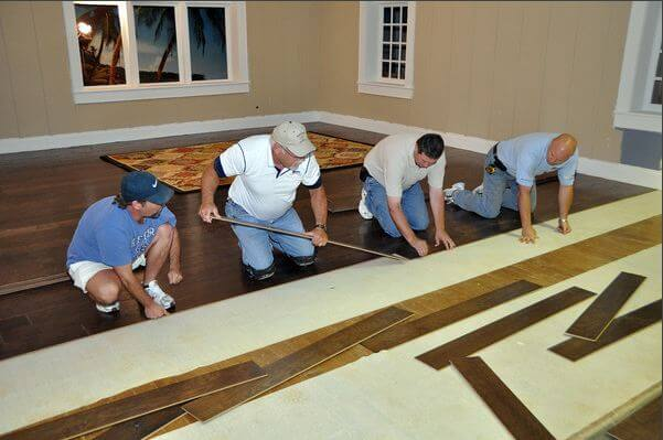 installing shaw floors