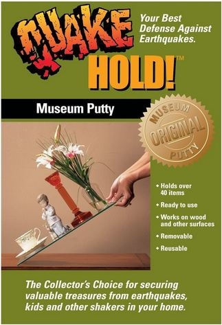 Quakehold Museum Putty Gel And Wax Secure Your