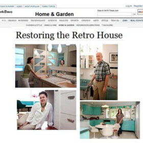 Restoring the Retro House in the New York Times Aug. 18 2011