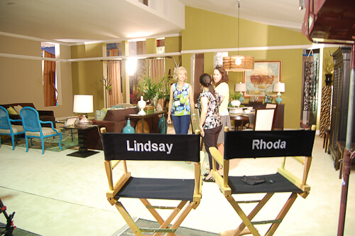 Rhoda, Lisa LaPorta, and Lindsay
