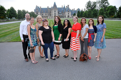 bloggers at the biltmore mansion