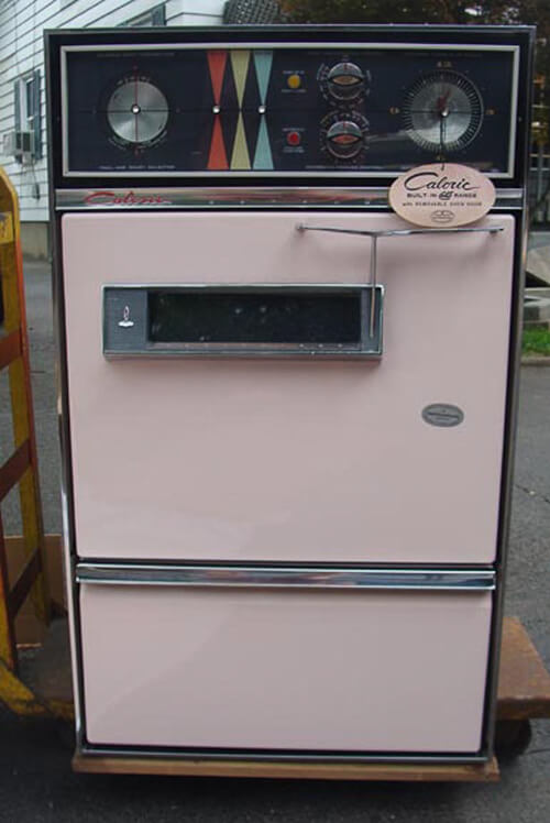 pink oven