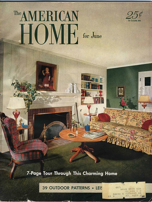 1950s interior design and decorating style 7 major for American house interior decoration