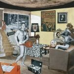 Richard Hamilton Just what is it that makes today's homes so different, so appealing?, 1956