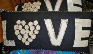 LOVE-felt-applique-pillows