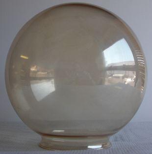 amber globe light