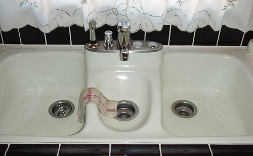 Fiesta kitchen sink by American Standard, introduced in 1966 or ...