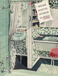 The most popular colors for mid-century bathrooms? Take our poll!