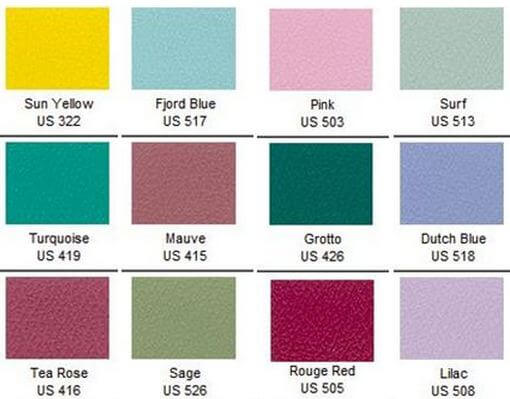 Naugahyde Colors Spirit Millennium Collection