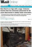Time capsule Victorian kitchen – hidden in a basement since World War II