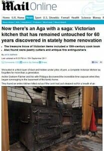 time capsule victorian kitchen