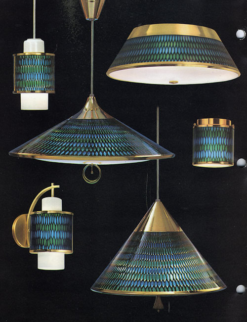 Vintage Moe honeycomb lighting