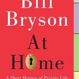 bill bryson at home book cover