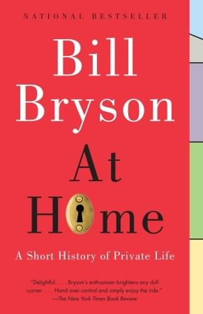 bill bryson at home book cover