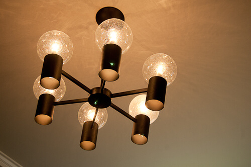 vintage lightolier chandelier
