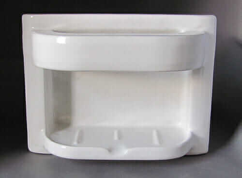 Superbe Recessed Ceramic Soap Dish